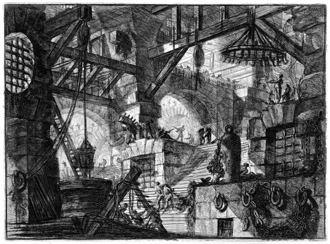 Piranesi's Imaginary Prisons