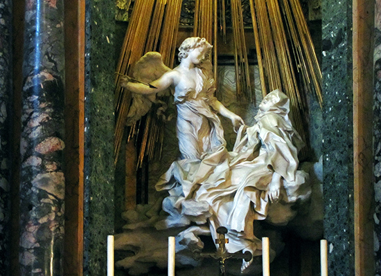 The Ecstasy of Saint Teresa by Bernini