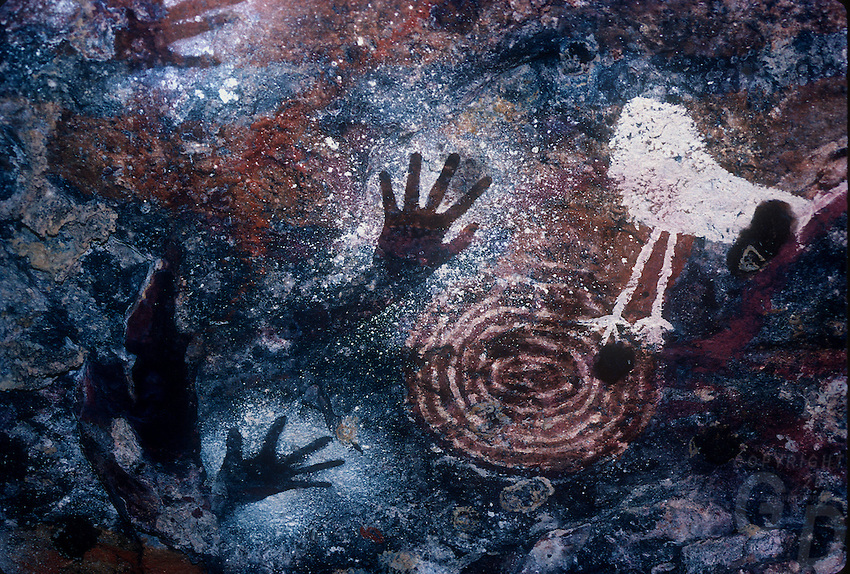 Australian cave painting