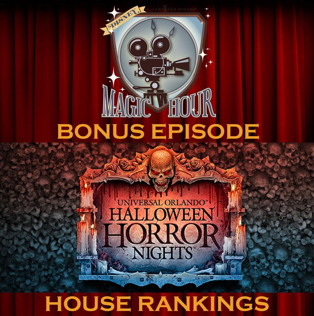 disney magic hour bonus episode - halloween horror nights 2017 house