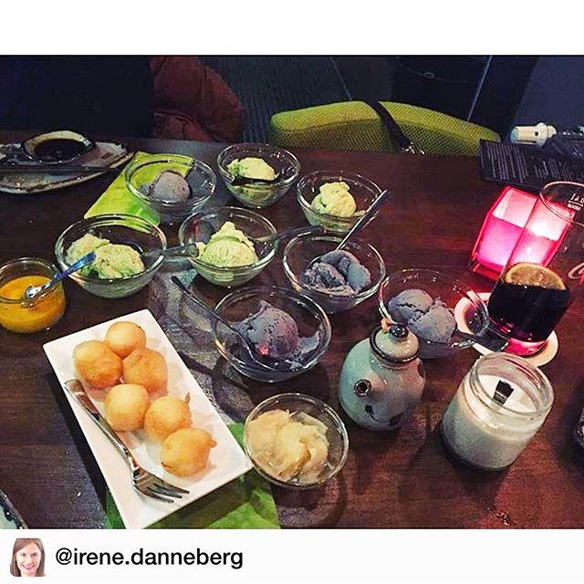 Lecker Eis im #kofookoo 😊 Neben allerlei #Sushi und #gegrilltem bieten wir auch leckere Desserts ! ☺️