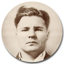 Pretty Boy Floyd looking awfully content with himself after cold drafting an Oklahoma oil and gas mineral owner.