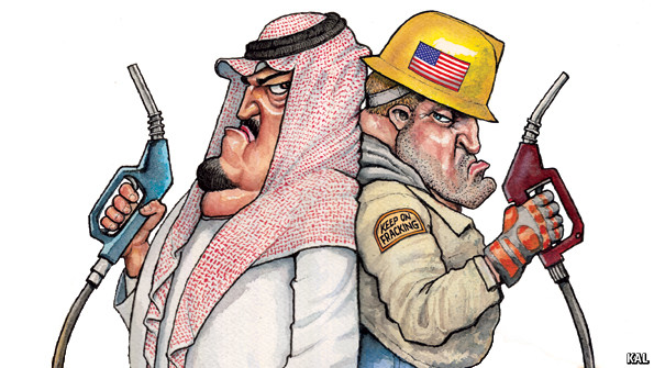 Sheikhs v Shale  from The Economist