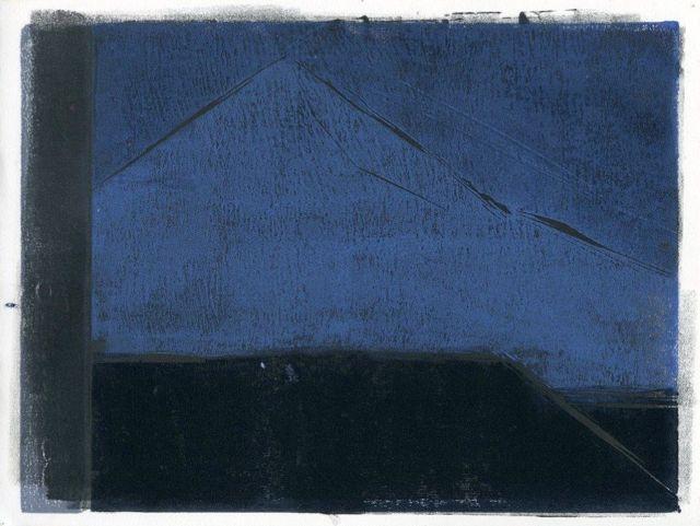 """Blámi/blueness series in progress 9"""" x 12"""""""