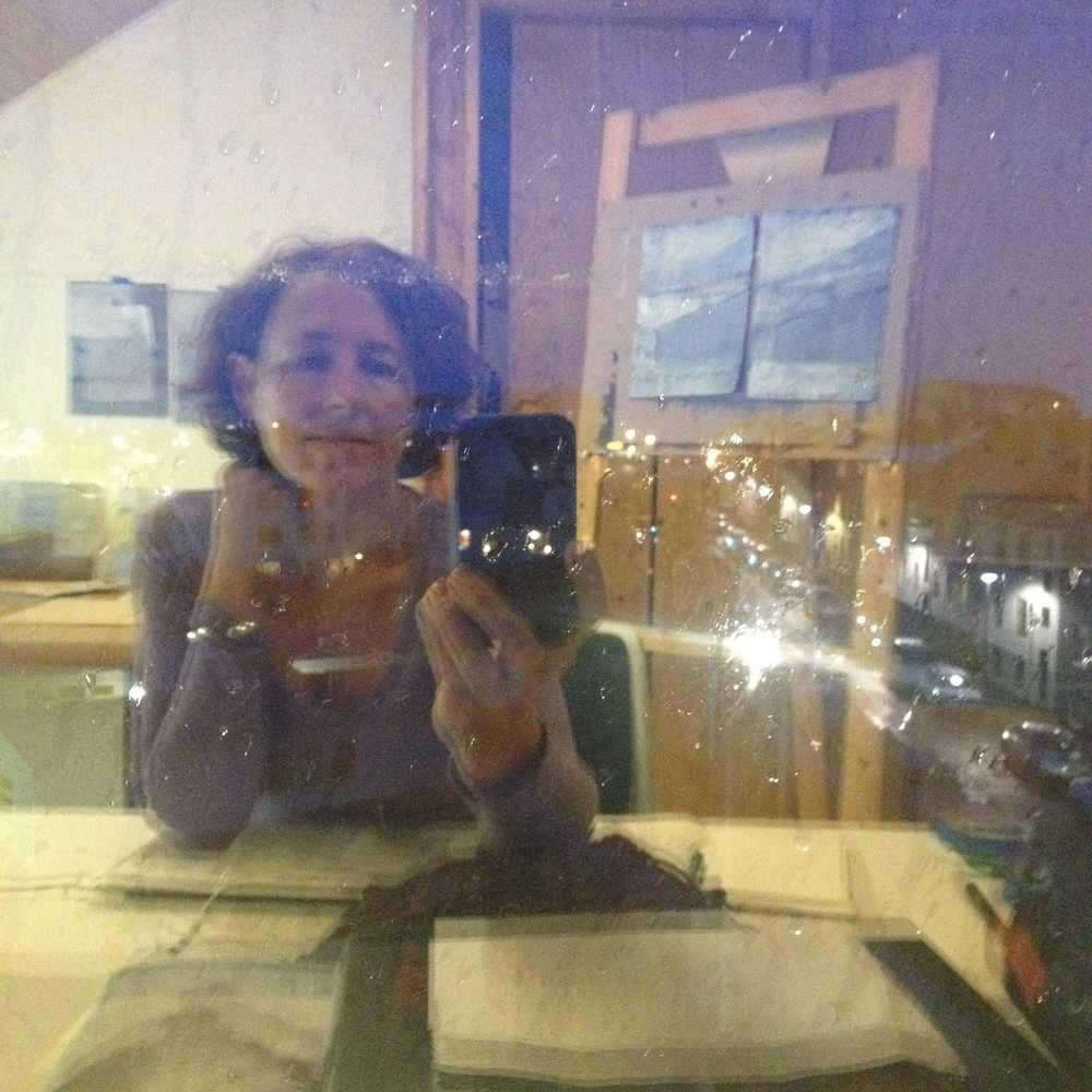 Window selfie.