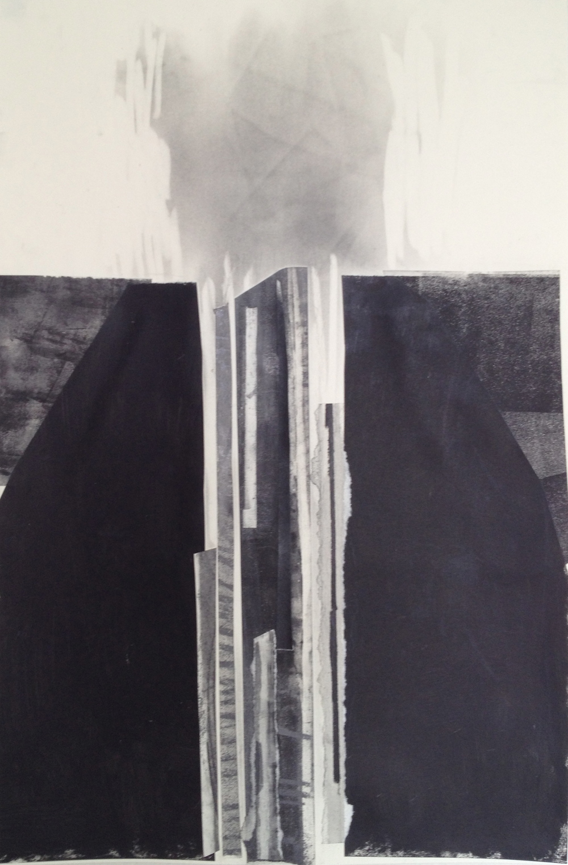 Subterrain - collage - 19 x 13