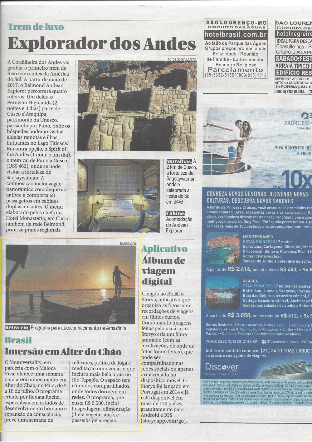 O Globo - Caderno Boa Viagem