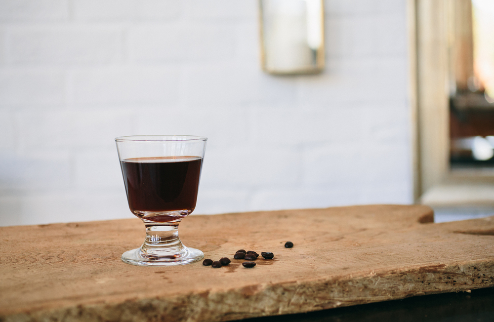 No. 246's No Sleep 'Til Brooklyn, made with Rittenhouse rye whiskey. Photo: Caroline Fontenot