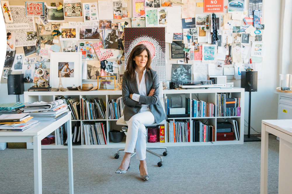 Ann Mashburn in her Atlanta headquarters. Photo courtesy Mashburn.