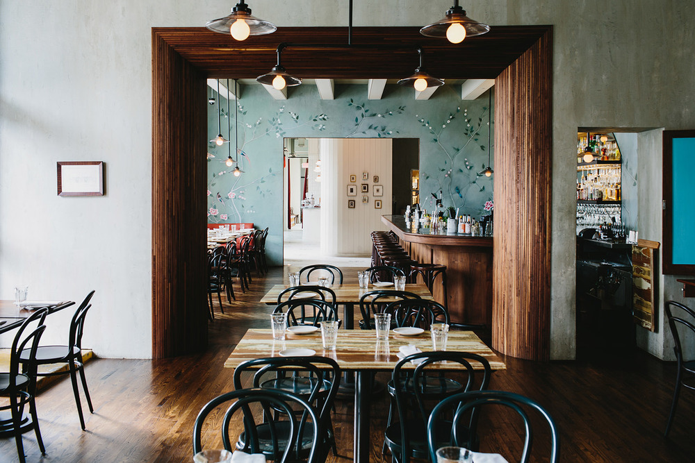 Chef Guy Wong's Le Fat, a Vietnamese brasserie on Atlanta's Westside. Photo via lefatatl.com