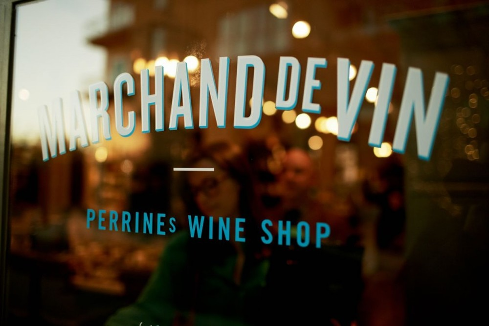 Perrine's Wine Shop. Photo via Warby Parker.