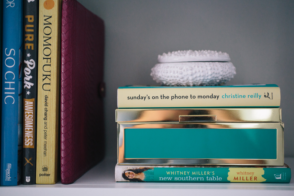 Great books with Southern roots and a little trinket box for Mom.