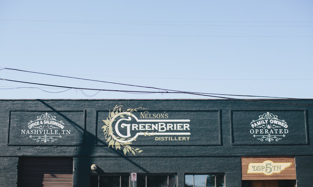 Nelson's Green Brier Distillery is located in Nashville's Marathon Village, offering tours and tastings daily.
