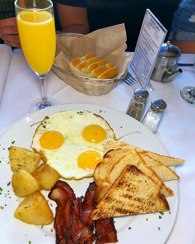 We serve daily brunch for only $19.95 that included entree and bottom mimosas!
