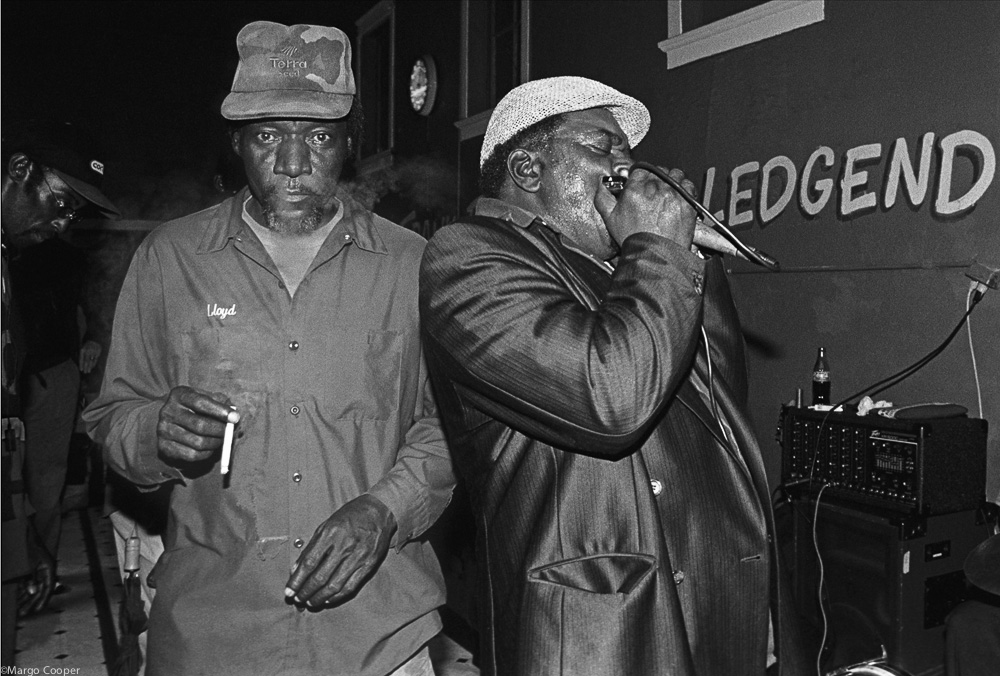 Ledgend: Arthur Williams, Willie Mae's Café, Helena, Arkansas    © Margo Cooper  All Rights Reserved. No part of this website may be reproduced, stored in a retrieval system, or transmitted in any form without prior written permission.