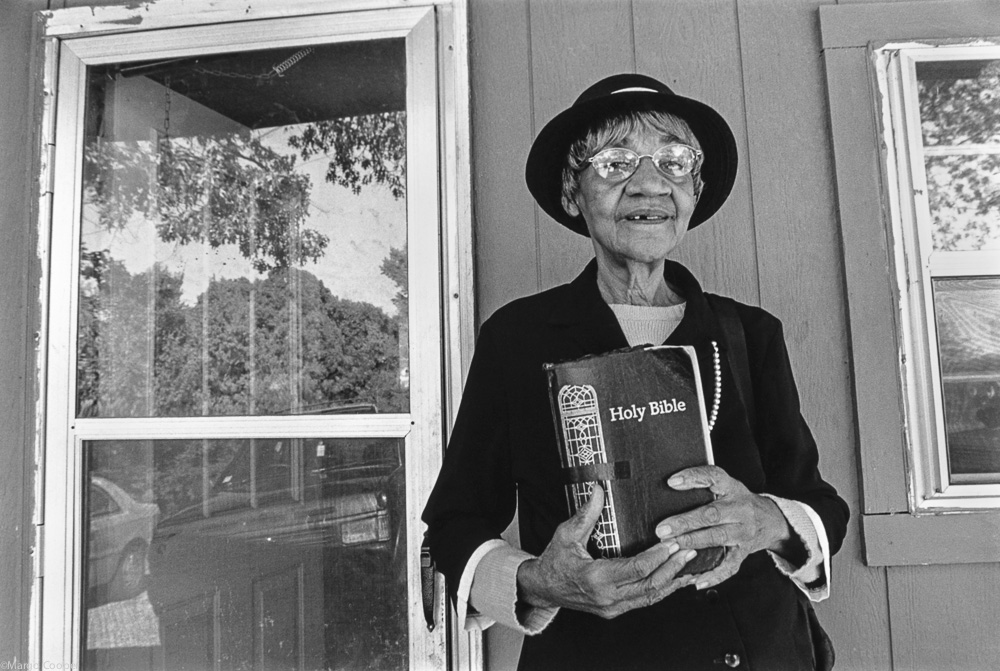 Mama Jean with Holy Bible, Tate County, Mississippi   © Margo Cooper  All Rights Reserved. No part of this website may be reproduced, stored in a retrieval system, or transmitted in any form without prior written permission.