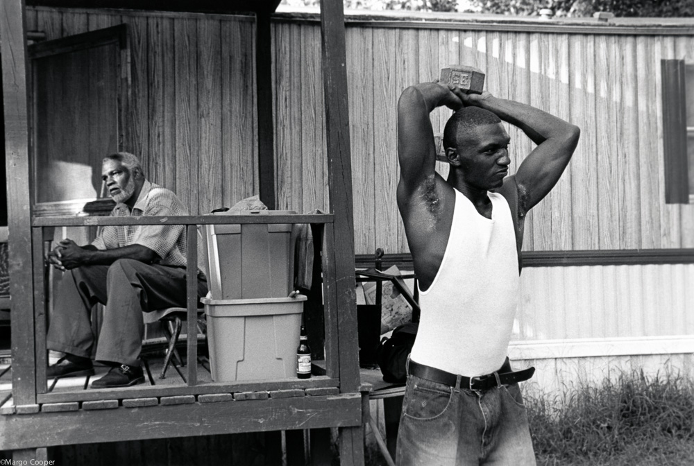Cedric and his uncle, Melvin Burnside, Byhalia, Mississippi   © Margo Cooper  All Rights Reserved. No part of this website may be reproduced, stored in a retrieval system, or transmitted in any form without prior written permission.