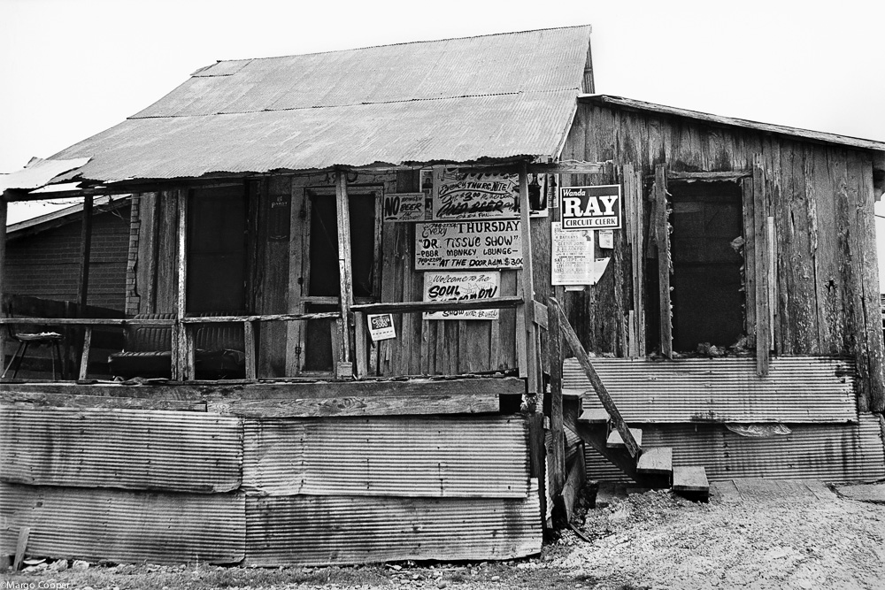 Po' Monkey's Lounge, Merigold, Mississippi   © Margo Cooper  All Rights Reserved. No part of this website may be reproduced, stored in a retrieval system, or transmitted in any form without prior written permission.