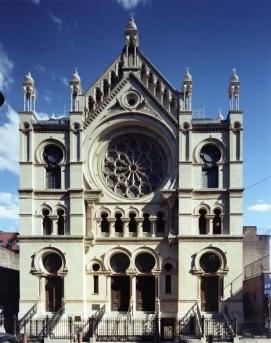 A Sinagoga da Rua Eldredge, atualmente um museu