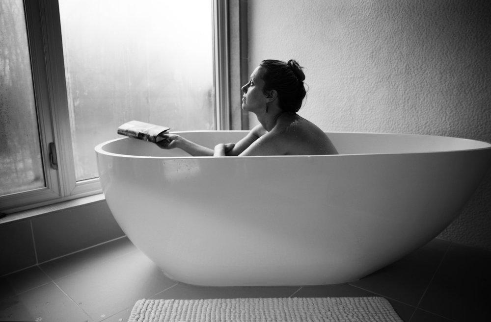 Photo of my winter bath by Pauline Agnes Garcia