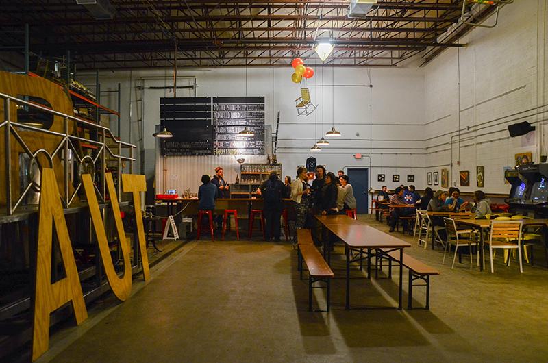 Aeronaut Brewery tap room