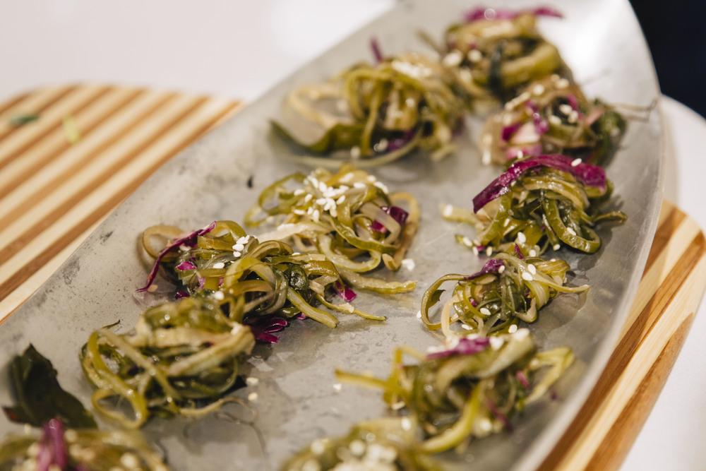 Seaweed Spaghetti Salad