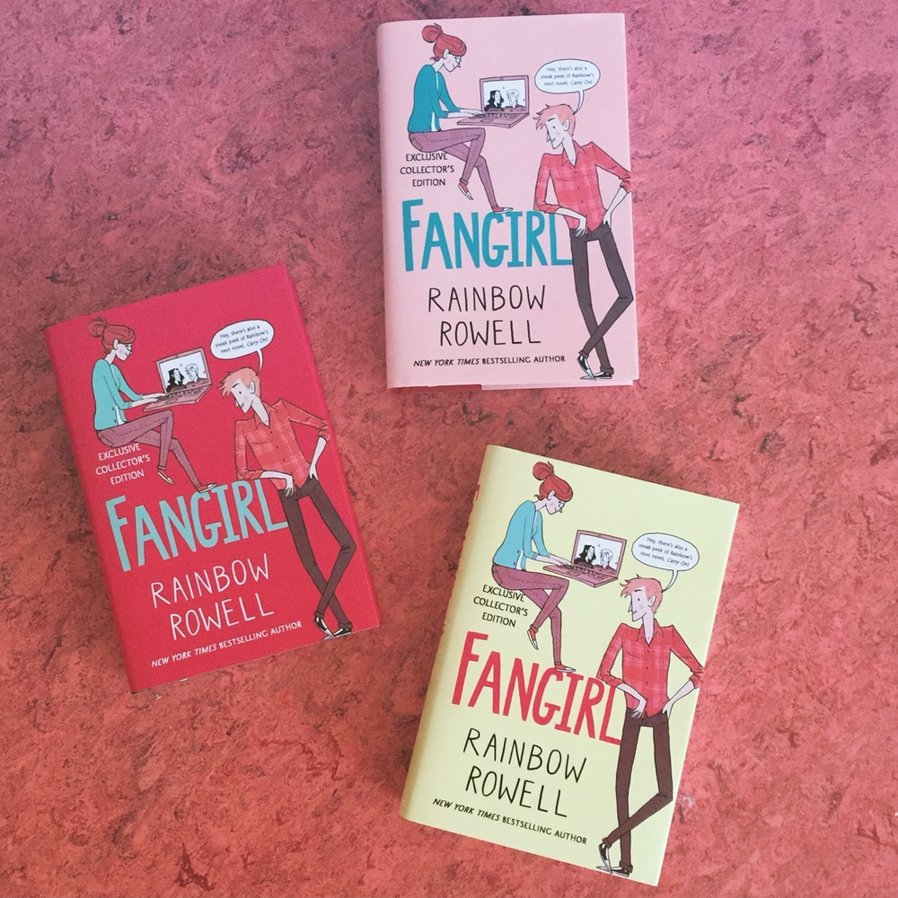 Beautiful Fangirl special edition out now — Rainbow Rowell