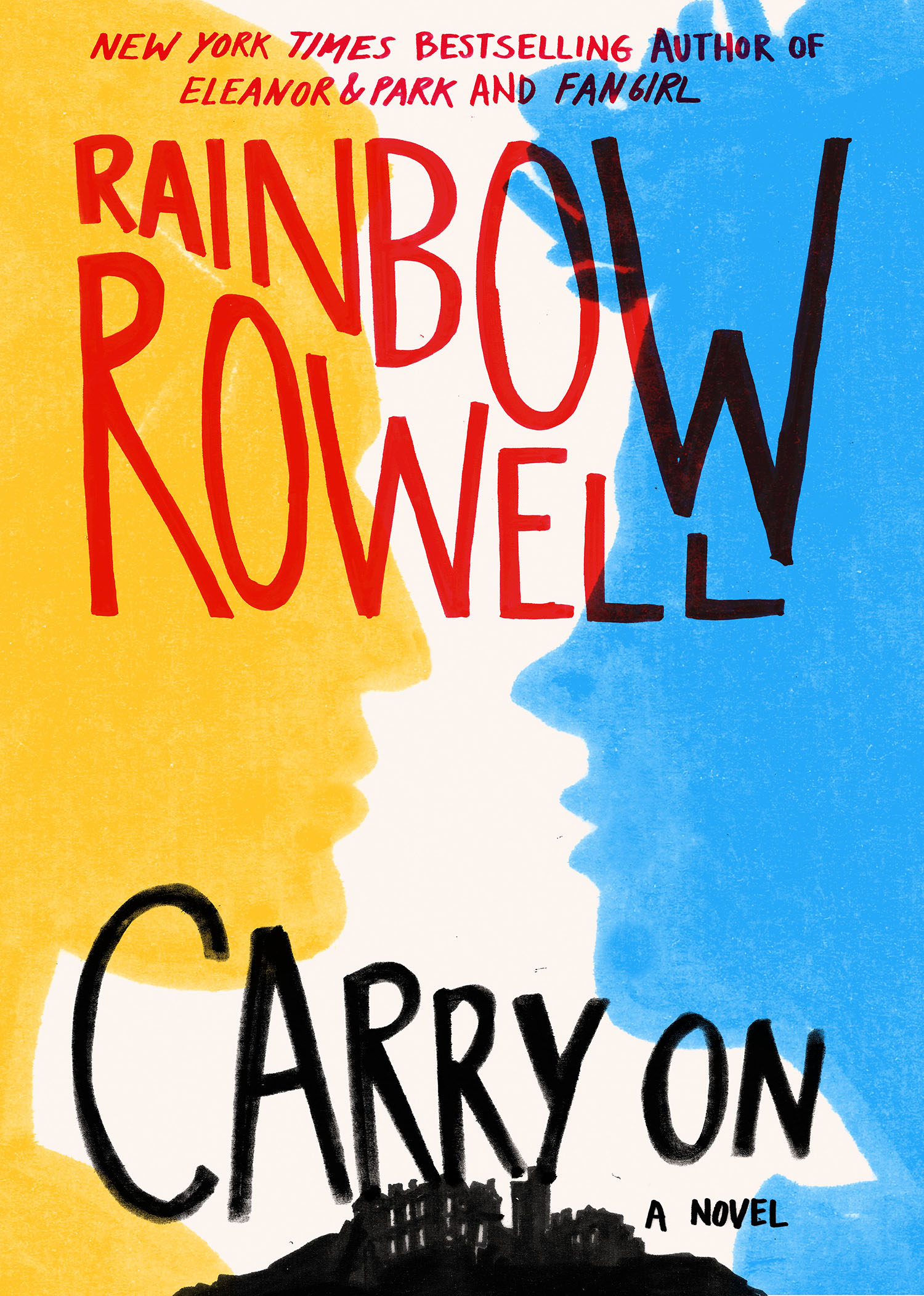 I can finally show you the 'Carry On' cover!