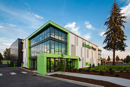 One of the reasons that we do self storage is because we get to work with the best clients. This is the project that started us down the self storage path.