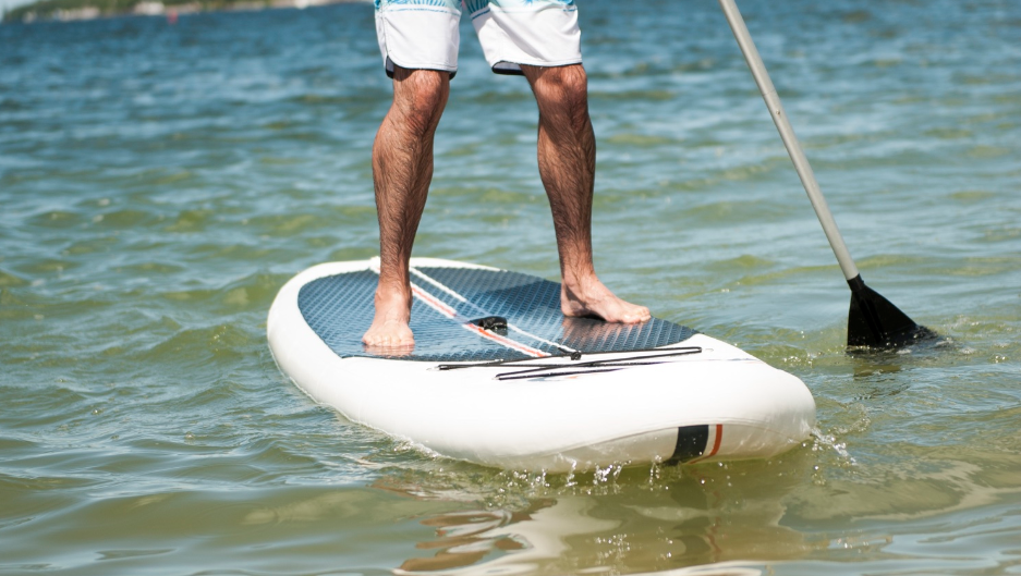 inflatable paddle boards are rigid