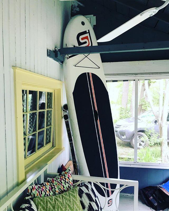 Oscar 10'6'' inflatable paddle board... perfect cottage accessory since 2015 🏄🌅#SJPaddleBoards #legendary #lakelife #somewhereonabeach #lakehouse #summer #paddleboard #suplife #standuppaddle #boating #boatparty #midwestisbest #midwestlife #puremichigan #paddle #boatlife #beachlife #beachhut #fitnessblogger #brandrep #brandrepsearch #fitnessmodel #fitnessmom