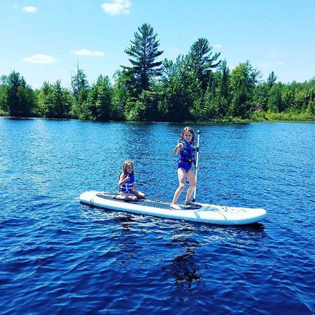 As a woman owned company, ❤️ seeing sisters exploring on their own👍 🏄⛵️⚓️ #sjpaddleboards #minocqua #godscountry #womanowned #tomahawk . . .  #explore #lakes #lakelife #sup #paddleboards #paddleboarding #standuppaddle #lakesup #summerfun #beachlife #summertoys #kayak #boatinabag #coreworkout #getfit #funfitness #getoutside #chicagosup #upnorth #puremichigan #nomi #sunset #paddle #lakemichigan #doorcounty