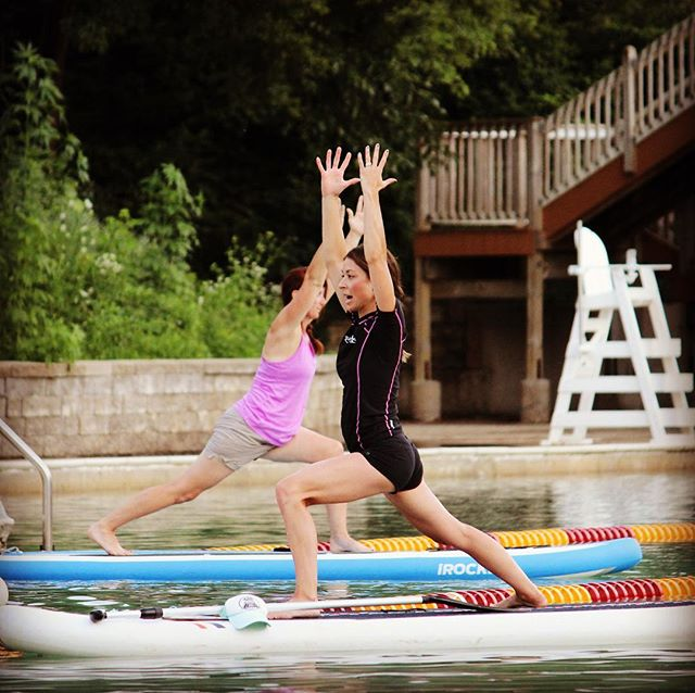 Two new SUP Yoga on the Fox classes are up! Aug 20th at 7pm and Sept 1st at 7:30am. We would love to have you join us! Message me for more details and to sign up!