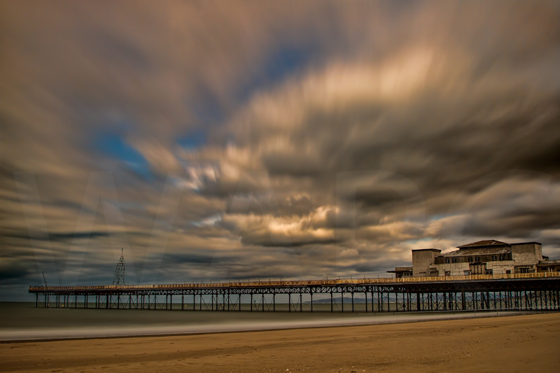 Colwyn Bay Pier by Norman O'Neill - C