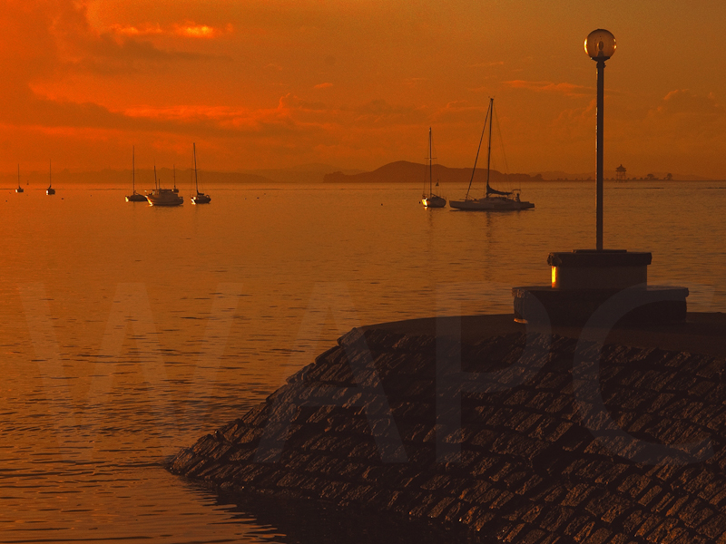 Harbour Morning by John Swannick - C