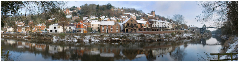 Ironbridge Panorama