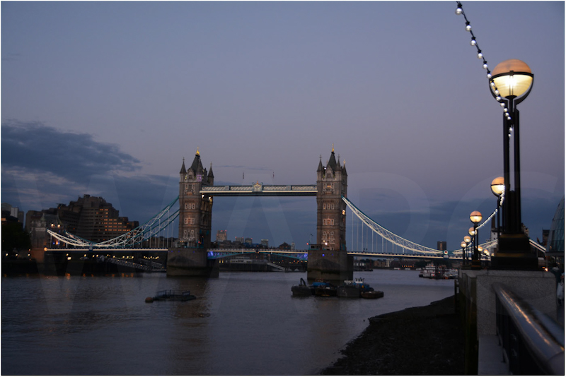 Twilight at Tower Bridge