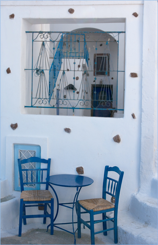 Blue Chairs by Tim Growcott-Commended