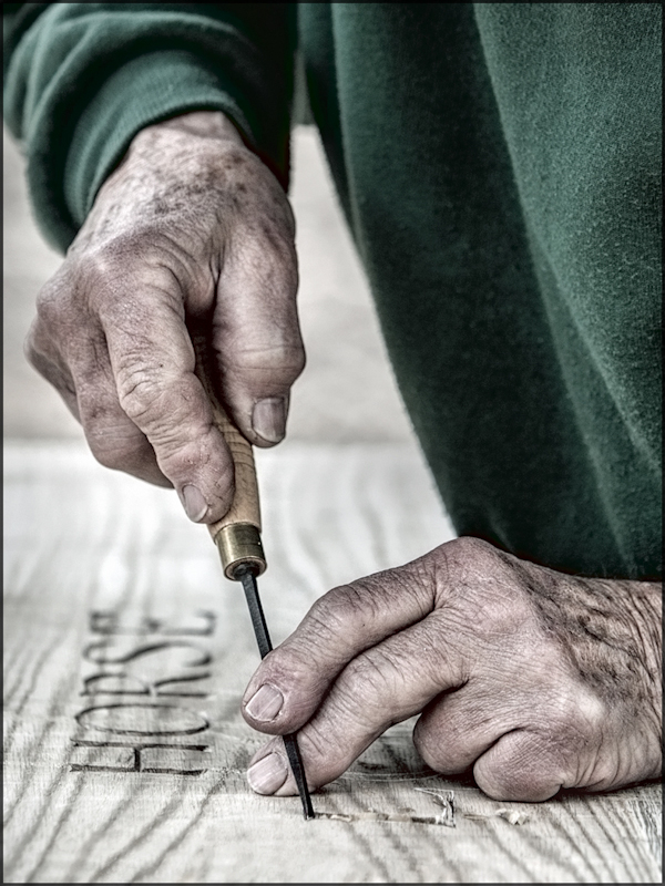 Master Woodcarver by Ed Phillips-Third