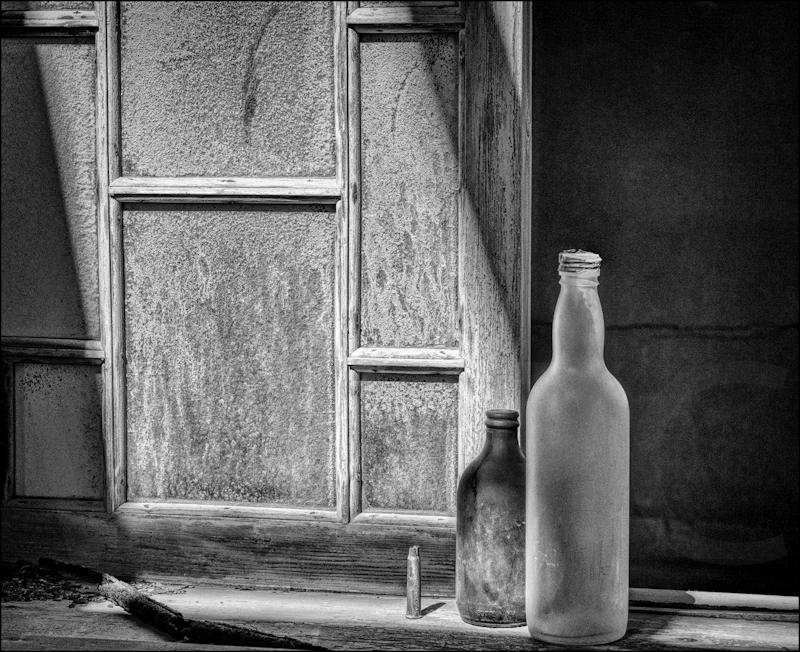 Bottles and a Bullet by Audrey Price - C