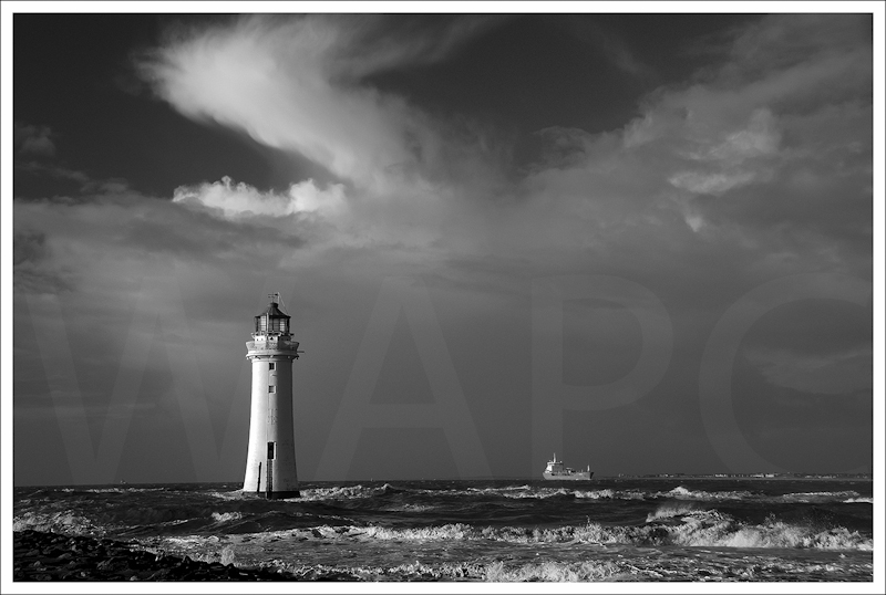 Storm clouds over New Brighton by Alan Lees - 3rd (prints)