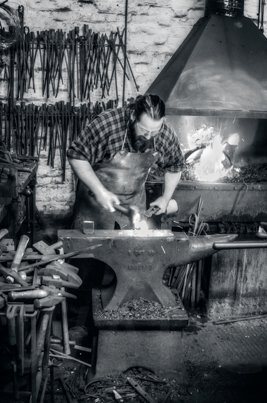 The Blacksmith by John Sweetland