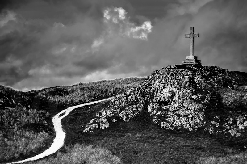 Footpath to the Cross by John Sweetland