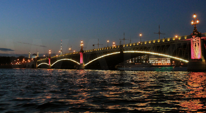 River Neva by Dave Prestwood