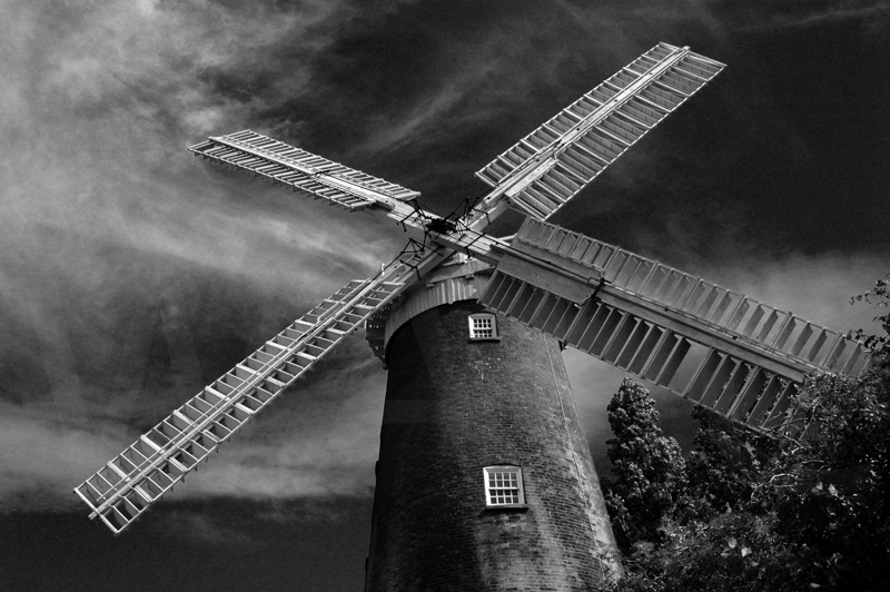 Buttrum's Windmill Woodbridge