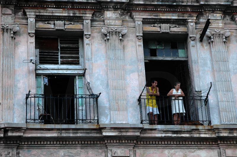 Cuban Balcony