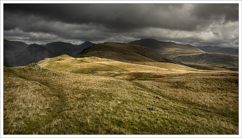 Light on Illgill Head by Jon Baker - C (PRINT)