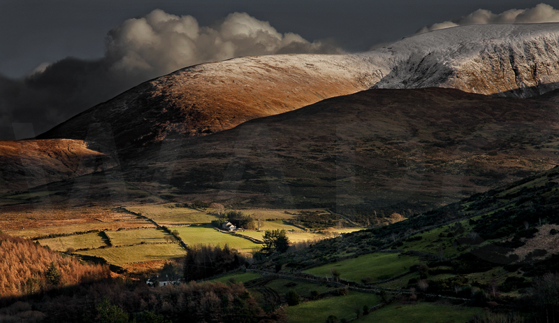 Mourne Mountains by Tony Thomas - 1st (PRINT)