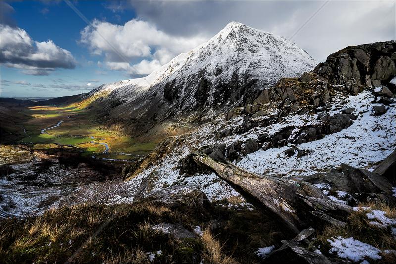 Nant Ffrancon - Snowdonia by Calvin Downes - C (Adv)