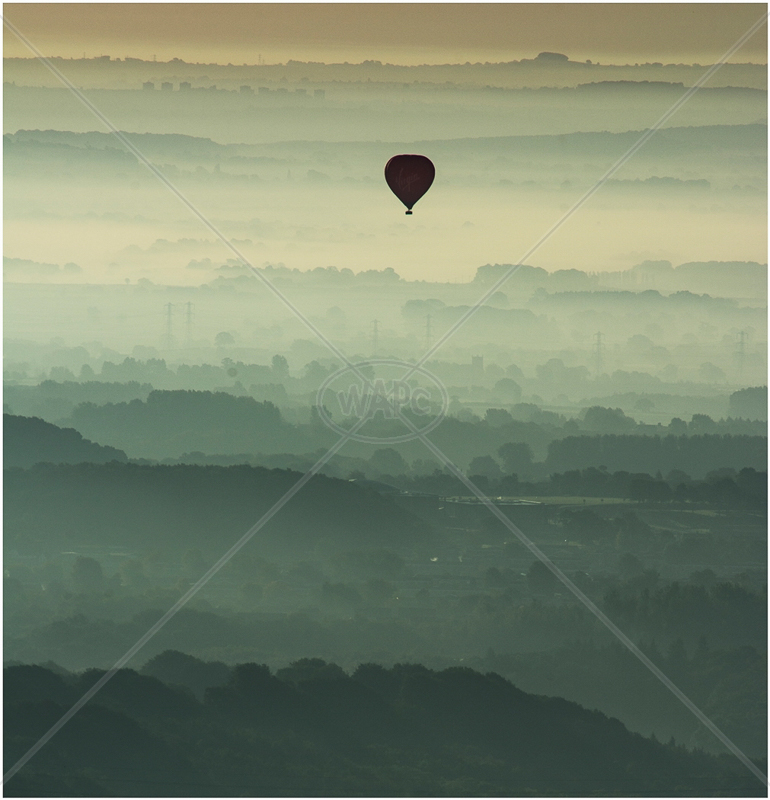 A Balloon at Dawn by Tim Growcott - 3rd (Adv)